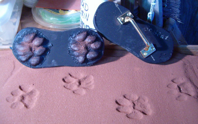 Animal Track Concrete Stamps Page One